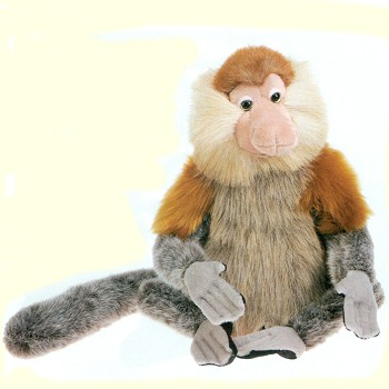 Stuffed Proboscis Monkey