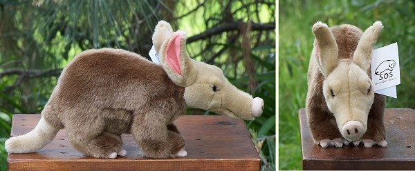 Leosco SOS Stuffed Plush Aardvark