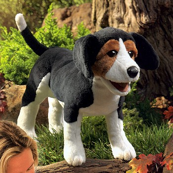 Folkmanis Stuffed Plush Beagle