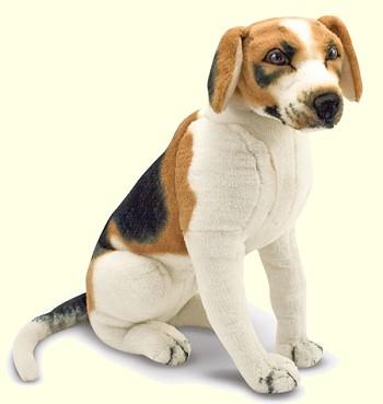 Stuffed Beagle