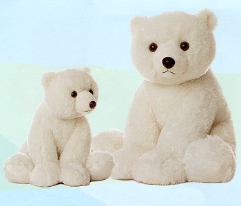 Stuffed Polar Bears