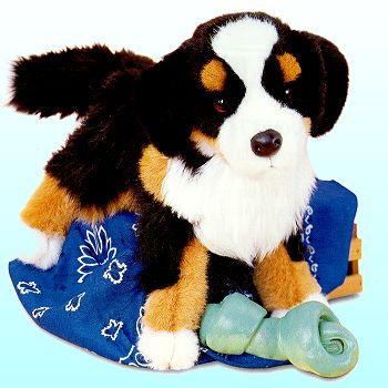 Stuffed Bernese Mountain Dog