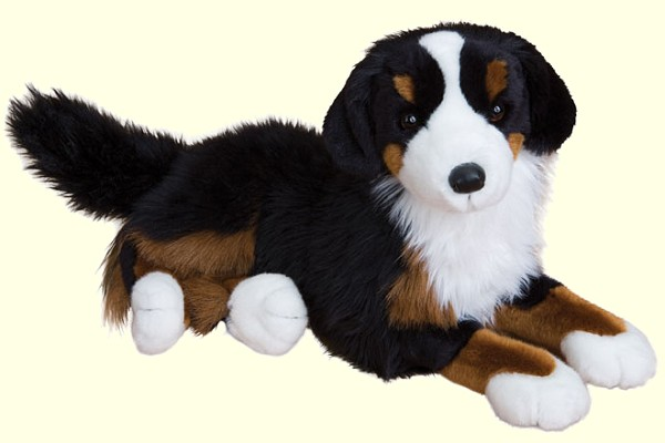 "Douglas ""Peter"" Stuffed Bernese Mountain Dog"