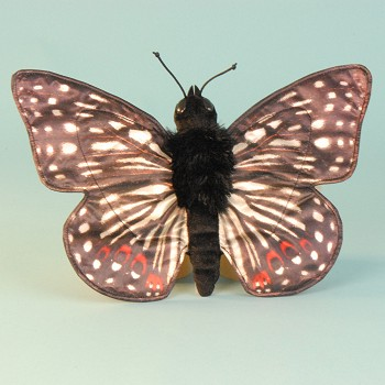 stuffed toys - Stuffed Checkerspot Butterfly - Bugs