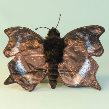 stuffed toys - Stuffed Mourning Cloak Butterfly - Bugs