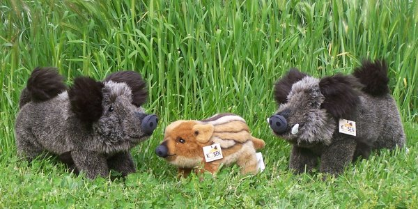 Kosen Plush Boar Stuffed Animals