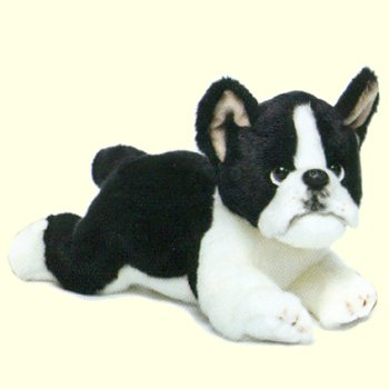 stuffed toys - Stuffed Boston Terrier - Dogs