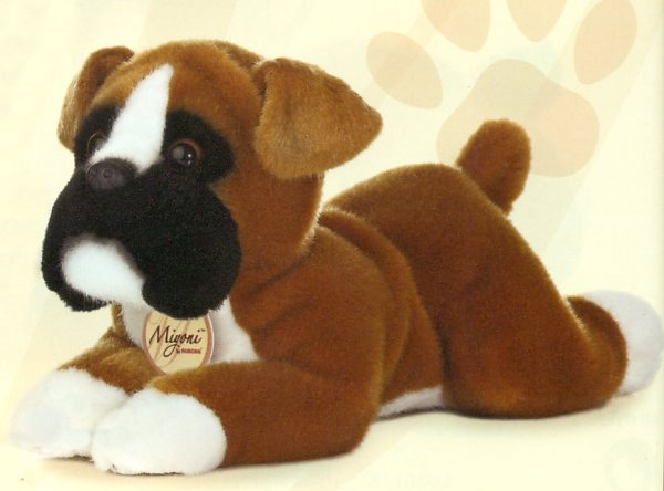 Stuffed Boxer