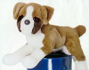 Stuffed Boxer Puppy From Ark
