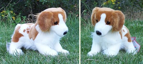 Spaniel Stuffed Animal Stuffed Plush Brittany Spaniel