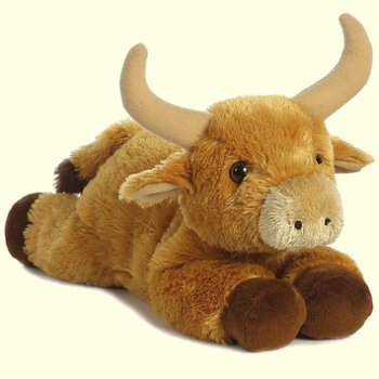 stuffed toys - Stuffed Bull - Farm Animals