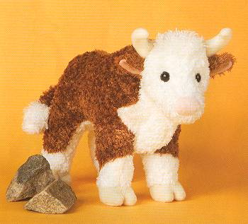 stuffed toys - Stuffed Bull - Farm Animals