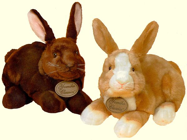 stuffed toys - Stuffed Dutch Bunny - Bunny Rabbits