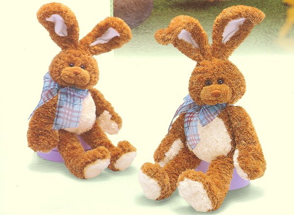 stuffed toys - Stuffed Easter Rabbit - Bunny Rabbits