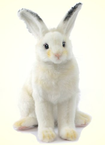 Stuffed Snow Shoe Rabbit