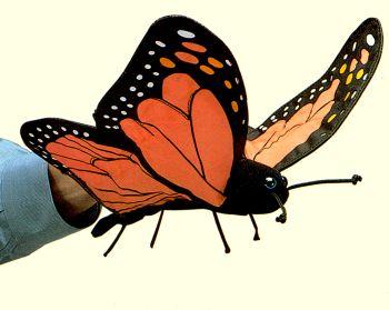 stuffed toys - Stuffed Butterfly - Bugs