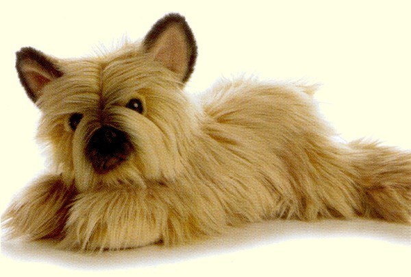 stuffed plush cairn terrier soft plush long haired cairn terrier ...