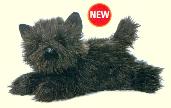 Stuffed Cairn Terrier