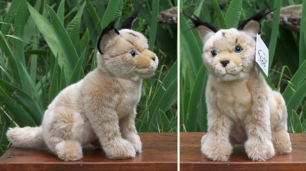 soft stuffed toy animals store - Stuffed Caracal - Caracal - Jungle Cats