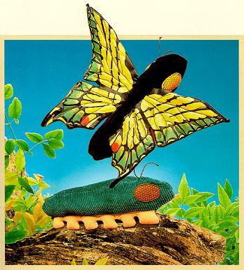 Stuffed Caterpillar Butterfly