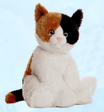stuffed toys - Stuffed Calico Cat - Domestic Cats