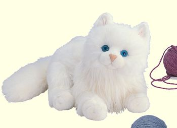 White Cat Stuffed Animal