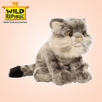 Wild Republic Stuffed Plush Pallas Cat