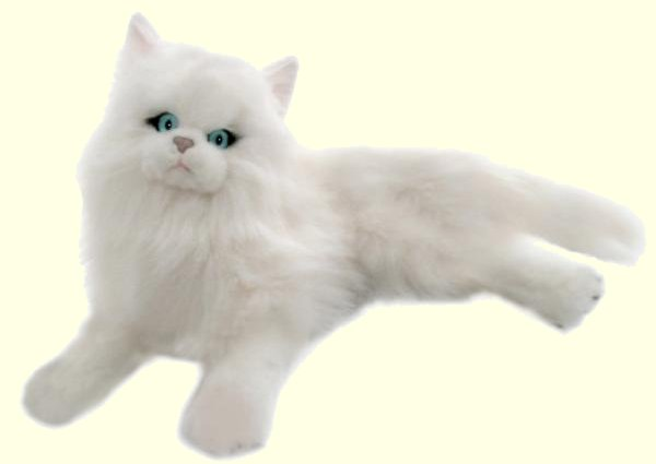 Stuffed Persian Cat