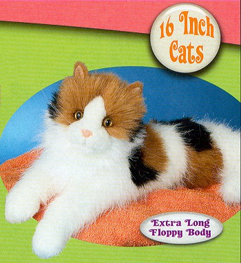 Stuffed Plush Calico Cat