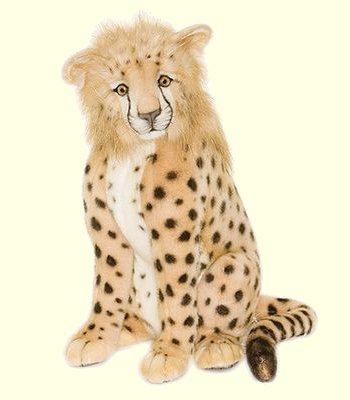 stuffed toys - Stuffed Cheetah Cub - Jungle Cats