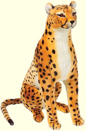 Stuffed Cheetah