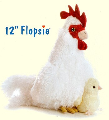 Stuffed Plush Chickens From Stuffed Ark