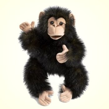 stuffed toys - Stuffed Chimpanzee - Monkeys