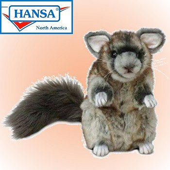 Hansa Stuffed Plush Chinchilla
