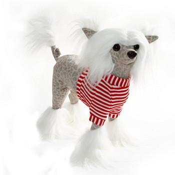 Plush Chinese Crested Dog Handbag From