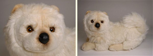 stuffed toys - Stuffed Cream Chow Chow - Dogs