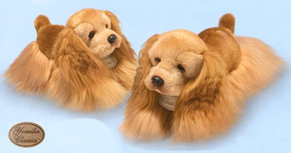 Stuffed Cocker Spaniel