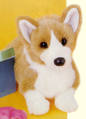 Ingrid the Stuffed Welsh Corgi