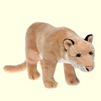 stuffed toys - Stuffed Cougar - Jungle Cats