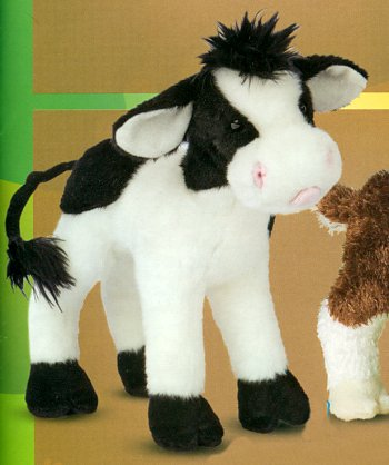 Stuffed Plush Cow