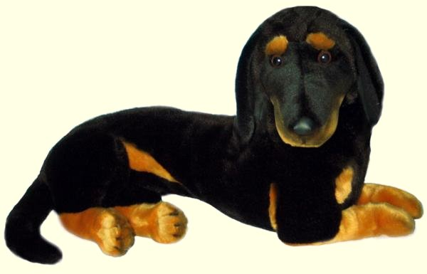 Stuffed Dachshund