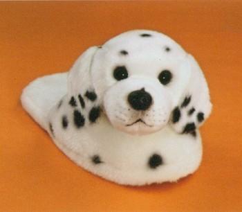stuffed toys - Stuffed Dalmatian Slippers - Dogs