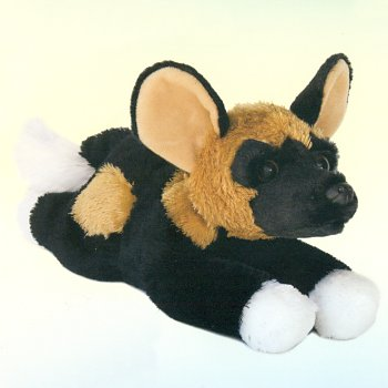 Aurora Stuffed Plush African Wild Dog