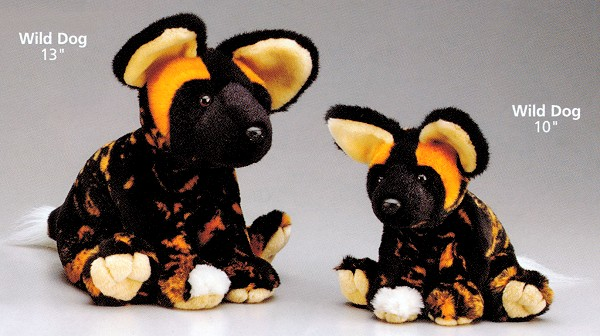 Wildlife Artists Floppy Plush African Wild Dog