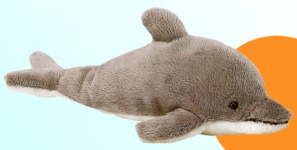 Big Plush Dolphin Stuffed Animal