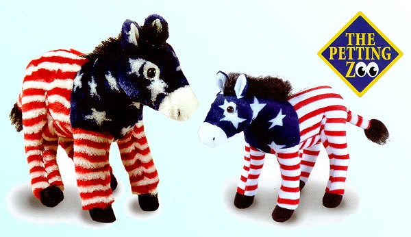 stuffed toys - Stuffed Donkey - Farm Animals