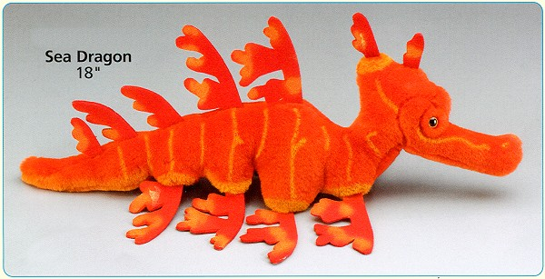 Stuffed Sea Dragon