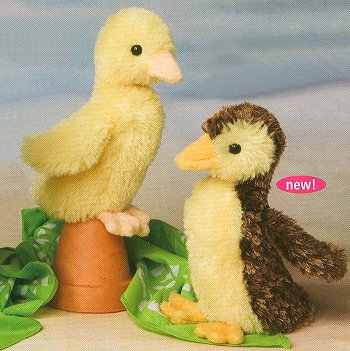 stuffed toys - Stuffed Duckling - Birds