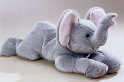 Super Ellie Plush Elephant Stuffed Animal