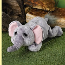 Stuffed Mini Elephant